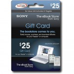 Beware of Sony eBook Gift Cards