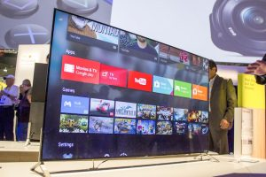 Sony Delivers Details For Android-Powered 4K TVs