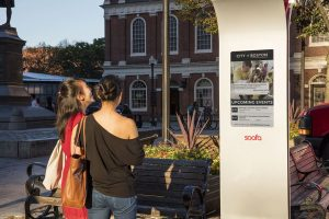 Sofa Sign, activating public spaces with just four bolts