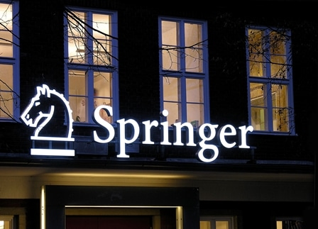 Springer+Building+Berlin+at+Night