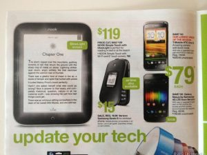 Nook Simple Touch with Glowlight Now $119