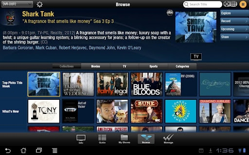 TiVo App for Android Tablets Launched