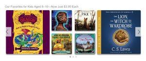 Audible is having a Huge Children's Audiobook Sale