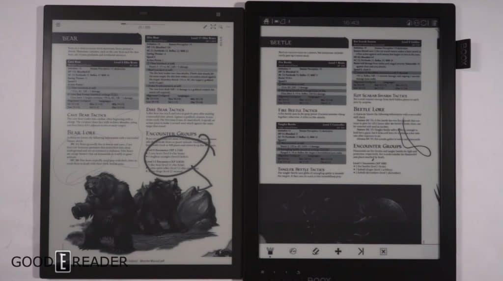 Kindle Vs Sony Reader: Sony Digital Paper DPT-RP1 Vs Onyx Boox Max Carta