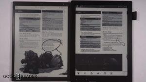 Sony Digital Paper DPT-RP1 vs Onyx Boox Max Carta