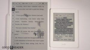 Remarkable vs the Amazon Kindle Paperwhite
