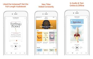 Instaread Audiobook Store Launches on iOS