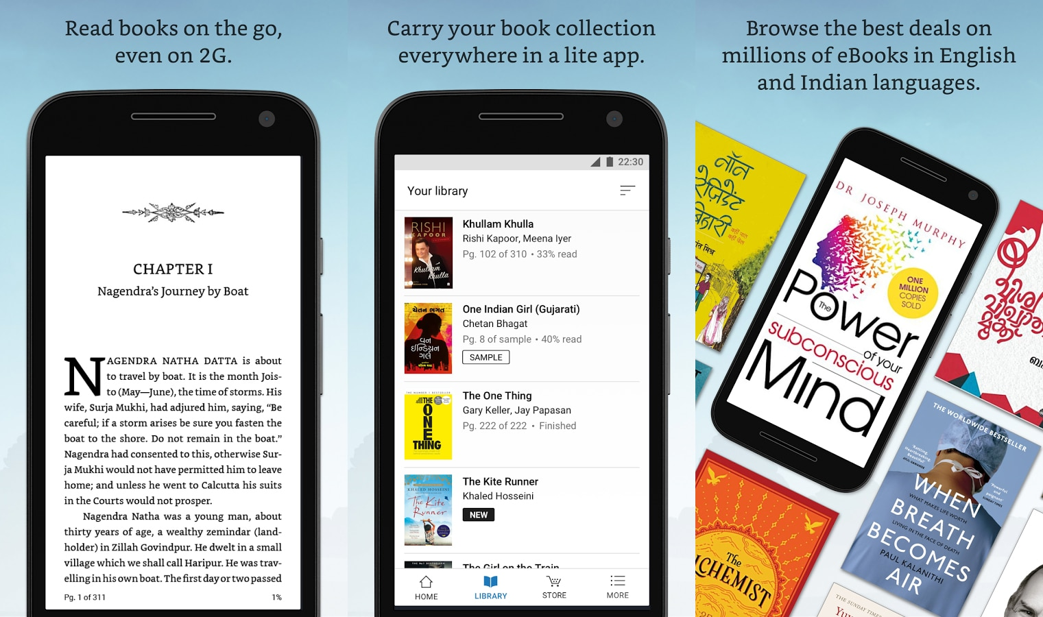 Android Lite apps are breathing a second life into e-readers
