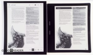 Kobo Aura One VS Amazon Kindle Oasis