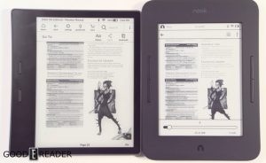 Amazon Kindle Oasis 2 vs Nook Glowlight 3
