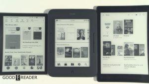 Kobo vs Kindle vs Nook