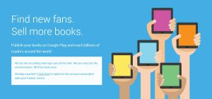 Google Play Books for Publishers is Closed Forever