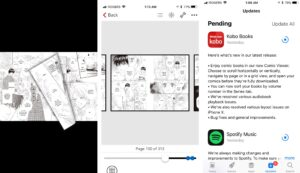 Kobo App for iPhone Receives New Comic Book Enhancements