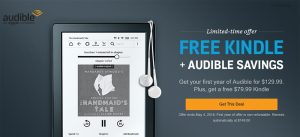 Audible is giving away a free Kindle