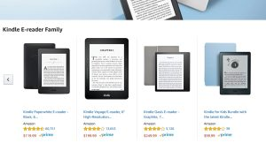 Amazon is discontinuing the Kindle