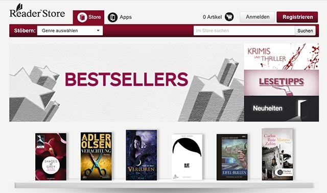 sony reader store germany