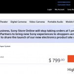 Sony Will No Longer Sell the Digital Paper e-reader