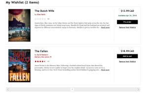Kobo Wishlist for Audiobooks and eBooks Now Available for Desktop