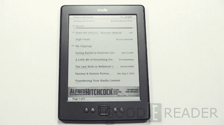 review of the amazon kindle 5 2012 edition