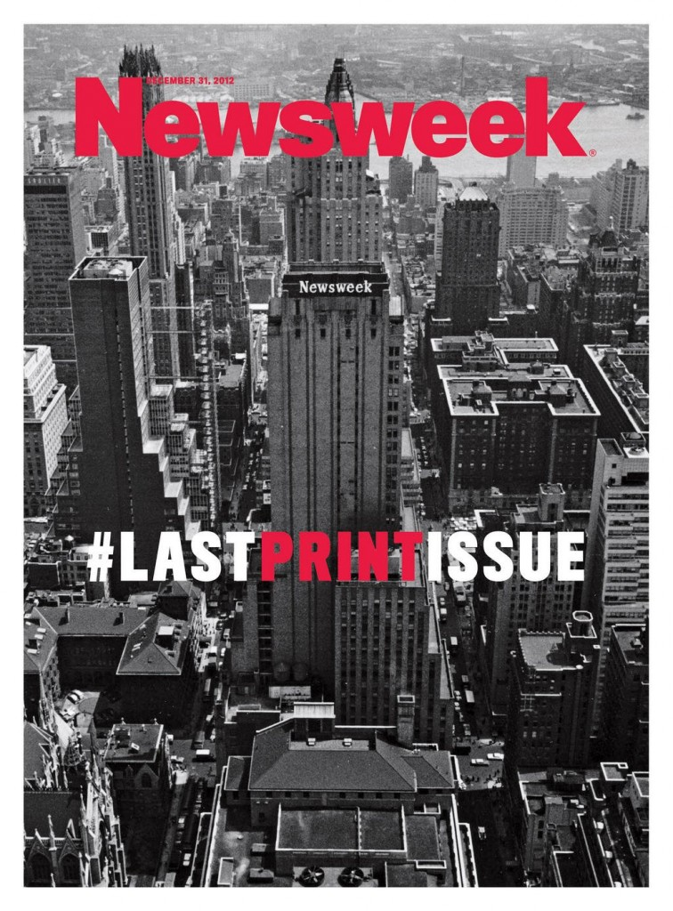 newsweek final issue