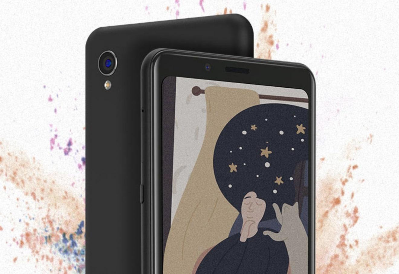 Hisense A5C is a color E INK smartphone