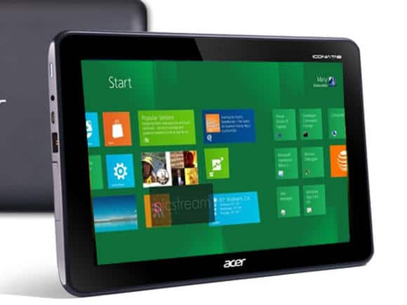 Acer To Reveal Windows 8 Tablet During Computex Next Month