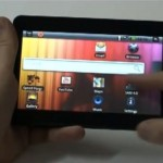 Android tablet 'Allview AllDro' from Romania