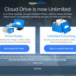 Amazon Unlimited Cloud Drive – Not All it's Cracked Up to Be