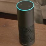 Amazon Echo Speaker Listens and Responds to Voice Commands