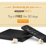 Amazon Fire TV Available for Free