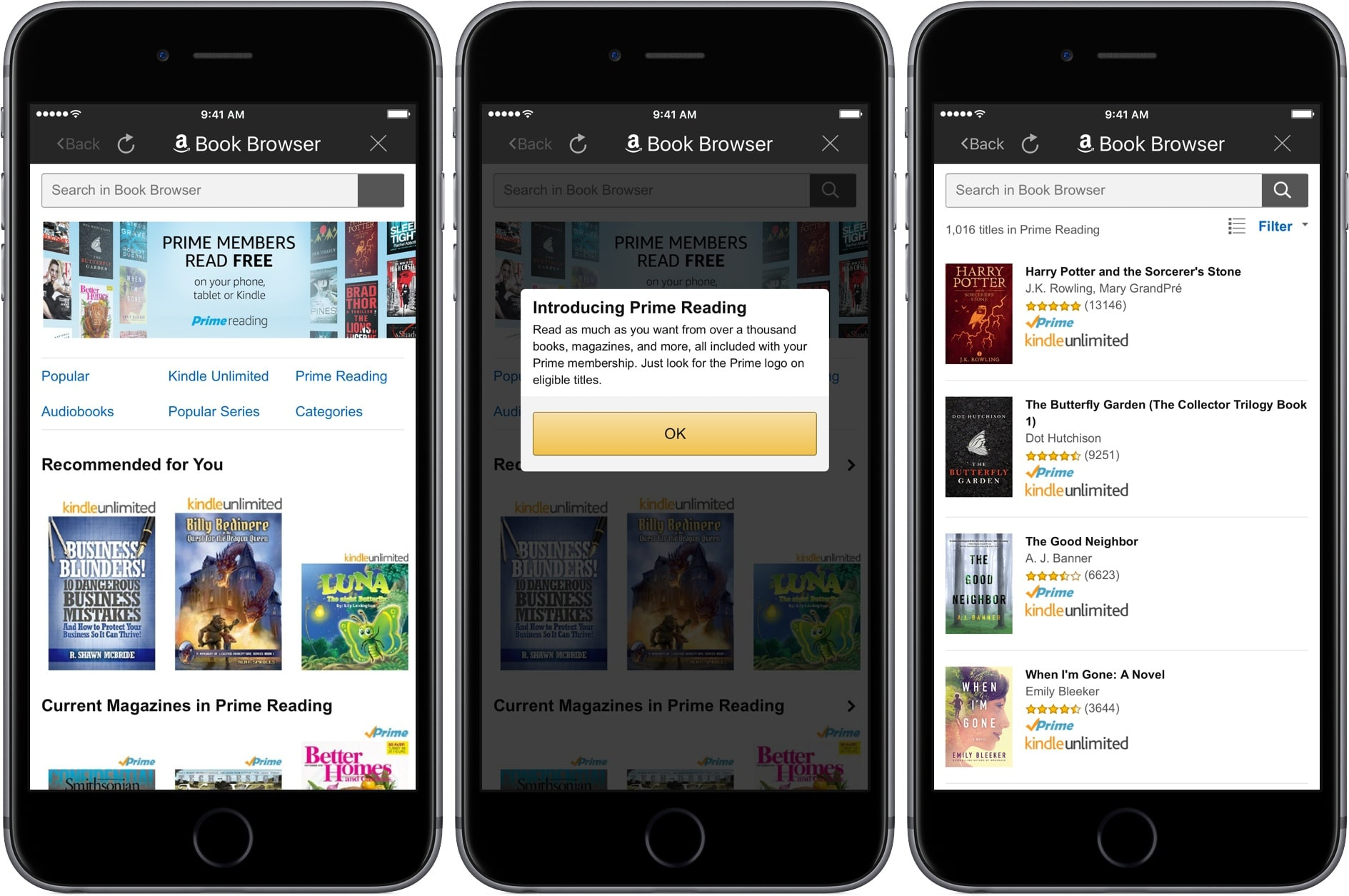 Amazon Prime Reading Now Available on iPhone and iPad - photo#7