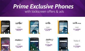 Amazon is removing adverts for all Prime Exclusive Phones