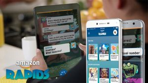 Amazon Rapids is a new app that features short stories for kids