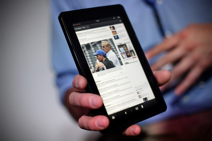 New Pictures of the Second Generation Amazon Kindle Fire HD 7