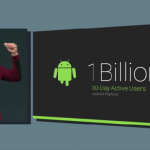 Android Boasts 1B Active Users in the Past 30 Days