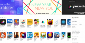 Apple Sets App Store Record During First Week of 2015