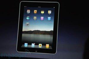 Apple I-PAD new E-Reader