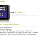 Archos 10.1 and 8 Inch Turbo Tablets at CES 2012