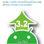 Asus Eee Pad Transformer to Get Android 3.2 Update Today