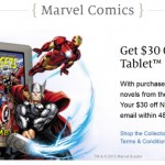 Save $30 on the Nook Tablet When You Buy 2 Avengers Graphic Novels