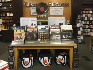 Barnes and Noble is now selling vinyl records