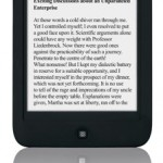 New Bebook Touch e-Reader Released