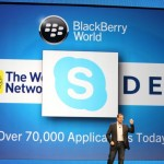 Skype for the Blackberry Playbook and BB10 Released Soon