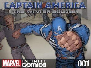 "Marvel ""Stealth Releases"" Captain America: Winter Soldier Prequel"