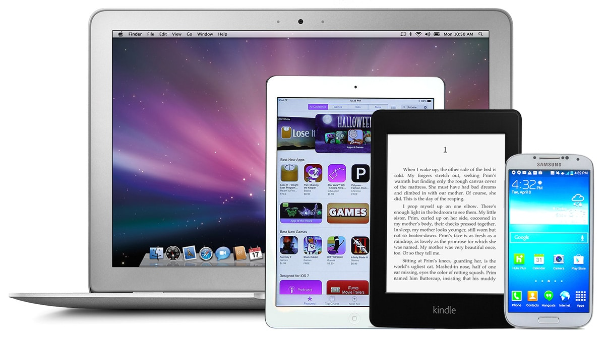 Do You Read Books On Your E Reader Smartphone Or Tablet