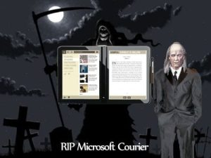 Microsoft Courier Cancelled