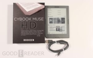Bookeen Cybook Muse HD Review