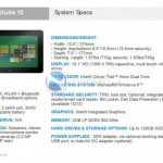 Dell Latitude 10 Windows 8 Tablet Leaked