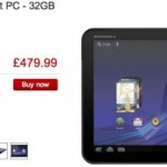 Motorola XOOM price xooms in at Dixons