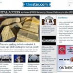 The Toronto Star Launches New Digital Paywall